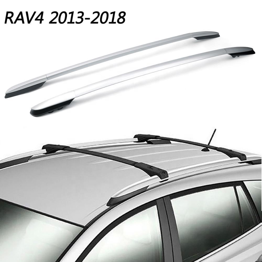 free shipping areyourshop roof rack side rails factory top bar for toyota rav4 2013 14 15 16 2017 aluminum buy for toyota rav4 2013 14 15 16