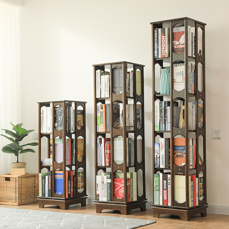 etagere de rangement rotative en pin oem a 3 niveaux bibliotheque blanche pour enfants a 2 etages buy multi rangees support de stockage 360 rotatif