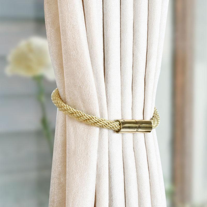 magnetic curtain tiebacks decorative curtain holdbacks for window buy curtain holders magnetic ball curtain tie backs product on alibaba com