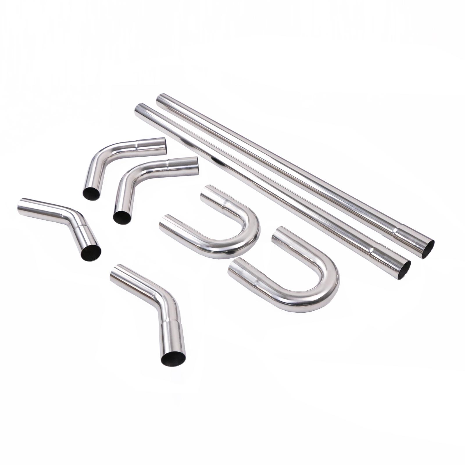 3 inch t304 stainless steel diy custom mandrel exhaust pipe straight bend kit buy mandrel bends 3 inch mandrel bent pipes and bend kit 2 5 mandrel