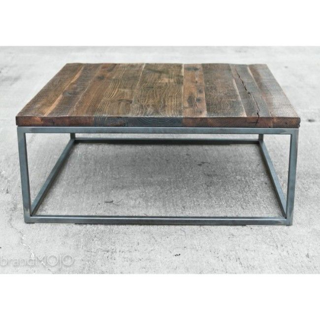 industrial space saving sofa couch living room furniture metal box frame dark solid wood square coffee table modern buy multi purpose standard