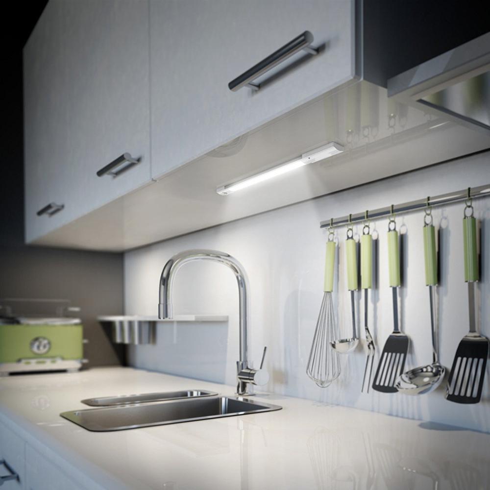 lampe led sous meuble sans fil rechargeable eclairage intelligent capteur pour cuisine buy eclairage led sous l armoire eclairage rechargeable sous