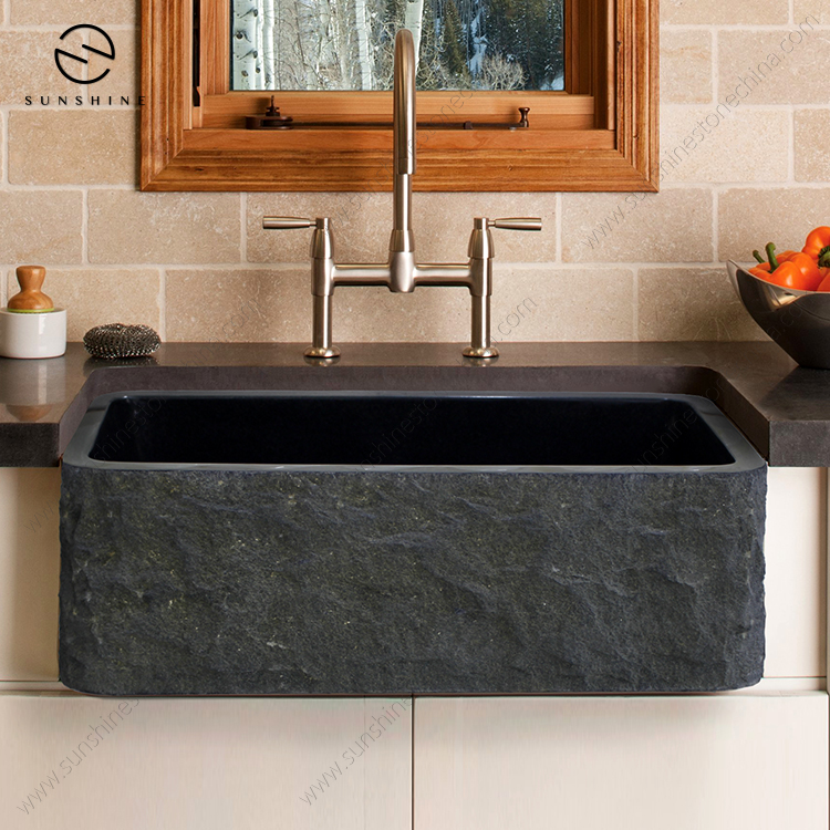 natural china shanxi black granite stone apron single bowl kitchen wash sink buy kitchen sink stone kitchen sink apron kitchen sink product on