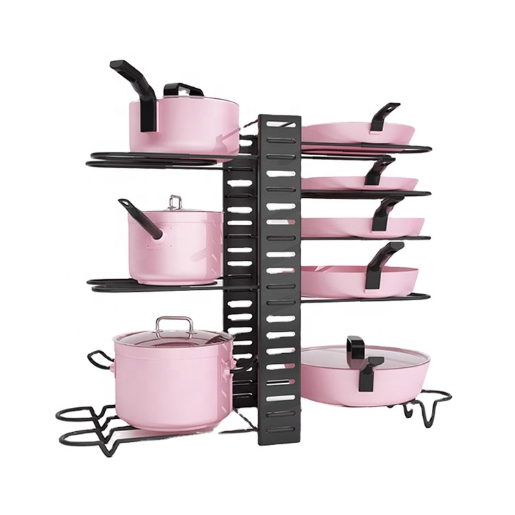 wholesale high quality cheap kitchen rack storage holders pan lid rack buy pan lid rack pan lid storage holders kitchen rack for pots and pans product on alibaba com