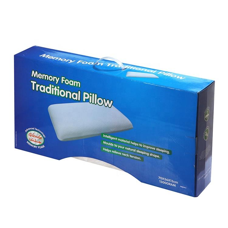 customized hot selling king queen standard size orthopedic memory foam pillow buy orthopedic pillow neck memory foam pillow sleeping pillow product on alibaba com