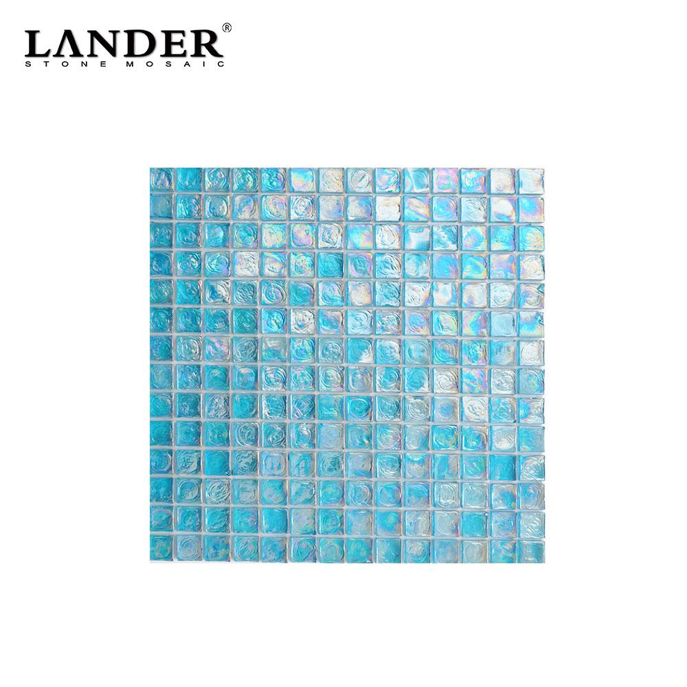 swimming pool transparent turquoise glass mosaic floor tile backsplash aqua blue pool mosaic molten glass mosaic tiles buy mosaic swimming pool
