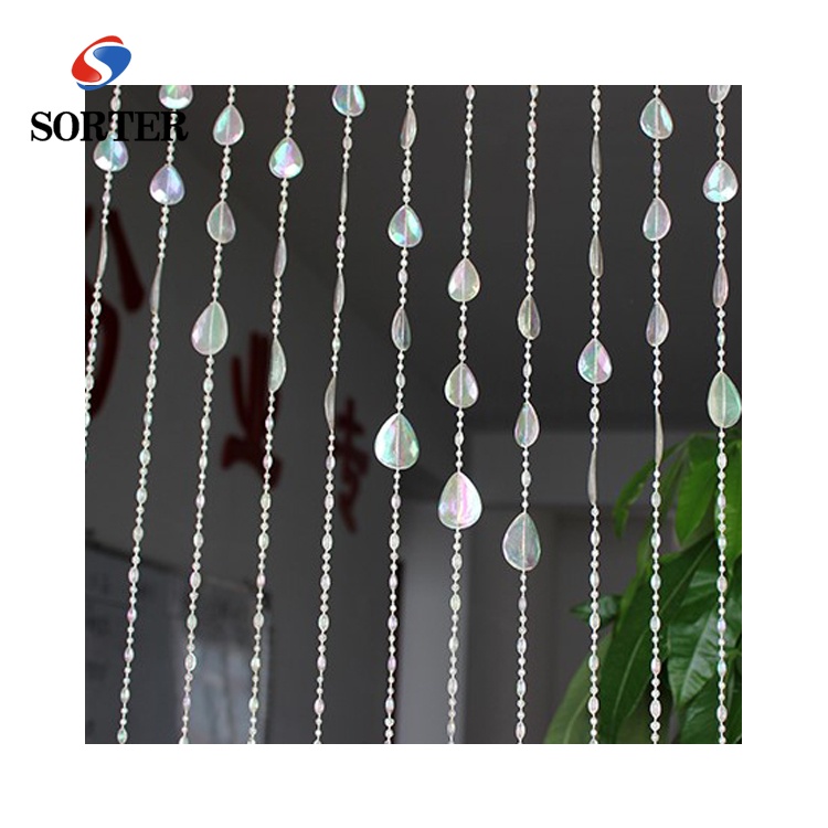 hanging teardrop plastic bead curtains for door curtain room divider buy hanging teardrop plastic bead curtains plastic bead curtains door curtain