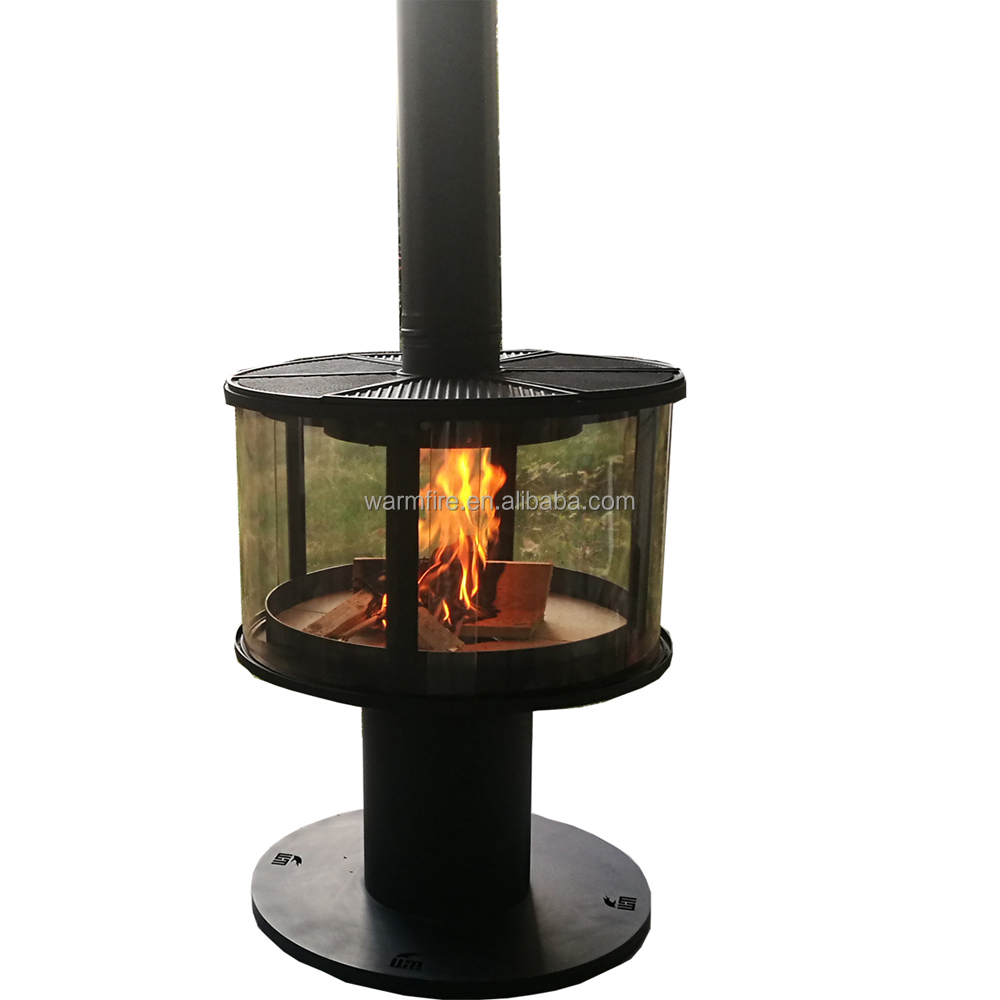 warmfire european style wood stove fire place outdoor buy suspended wood stove fire place outdoor annular glass door wood burning stove fire place