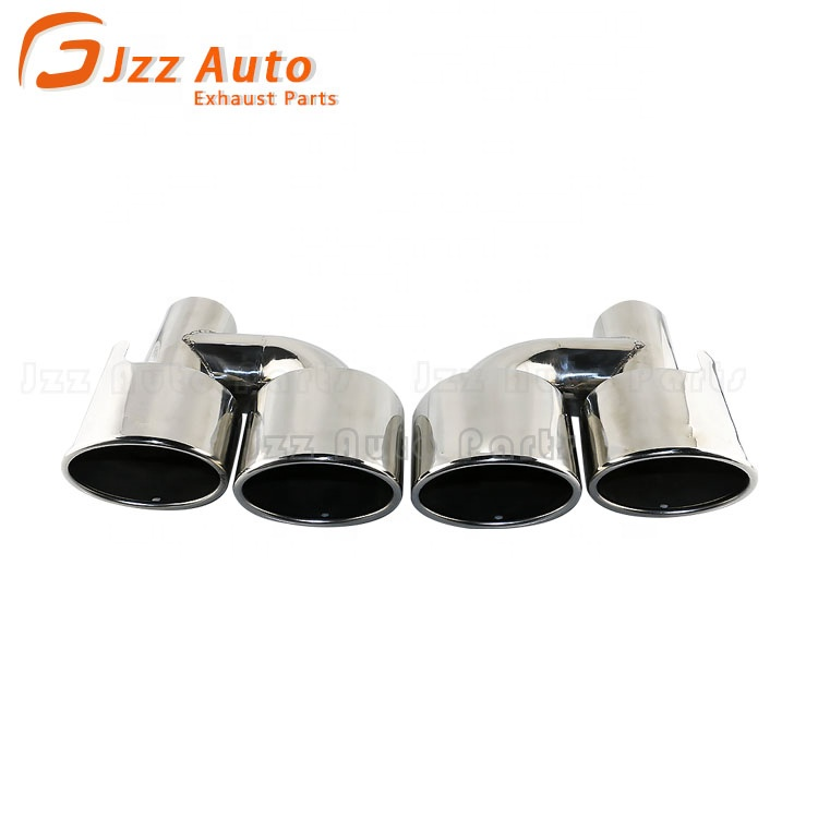 jzz 2 5 inch dual oval exhaust tips custom exhaust pipe for amg for sl slc buy exhaust tips for amg dual exhaust tips custom exhaust tips product on