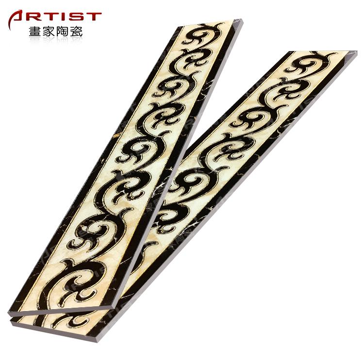 china gold border ceramic tiles decorative pencil border tiles buy china gold border ceramic tiles border floor border tile border kitchen tiles