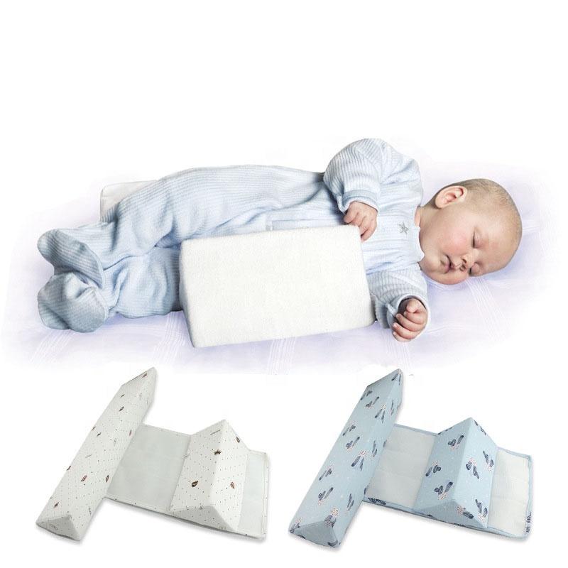 best selling velvet newborn infant safe side sleep support baby wedge pillow buy best selling side sleep pillow baby wedge pillow velvet newborn
