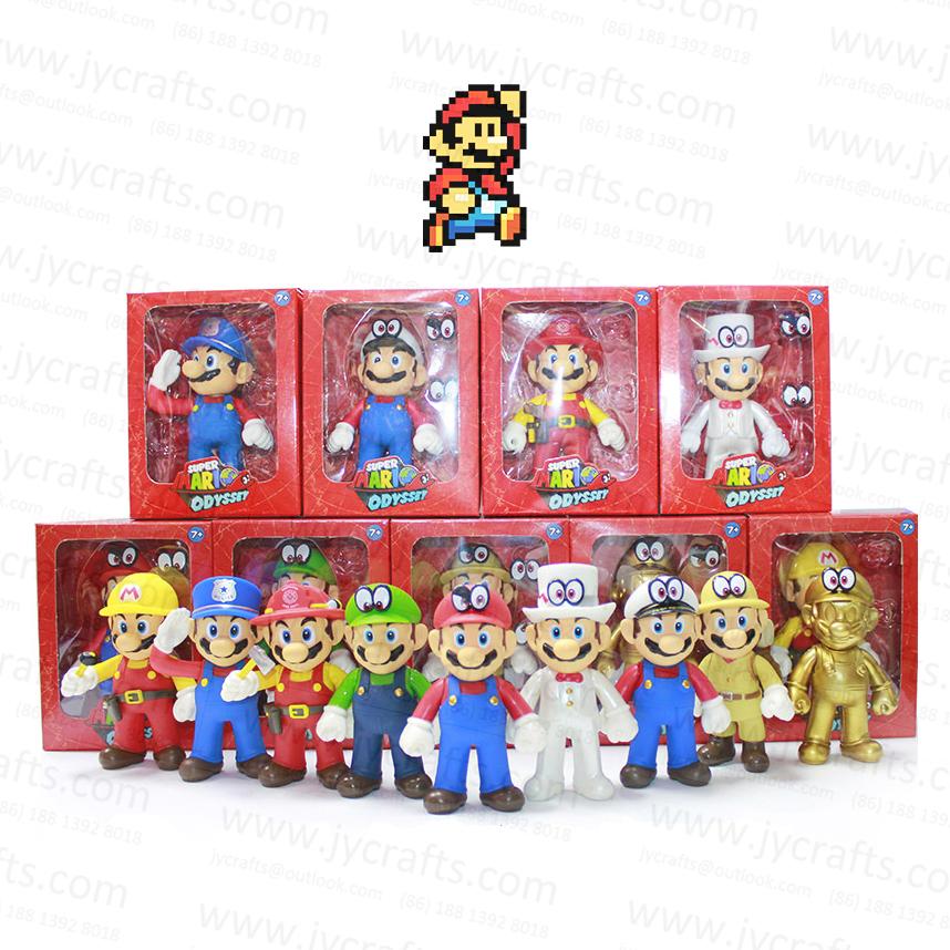 Mainan Game Panas Super Mario Bros Odyssey Action Figure Dengan 3 Pak Mata Yang Dapat Diganti Untuk Mainan Koleksi Terbaik 5 Inci Buy Permainan Mainan Super Mario Bros Yang Super Mario Odyssey Product