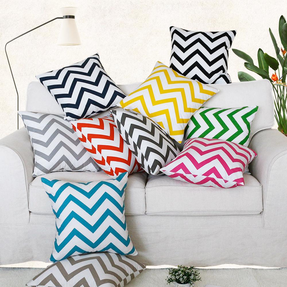 cheap price 100 cotton geometric zigzag chevron custom throw pillow covers cushion cover buy throw pillow covers custom throw pillow cover cotton