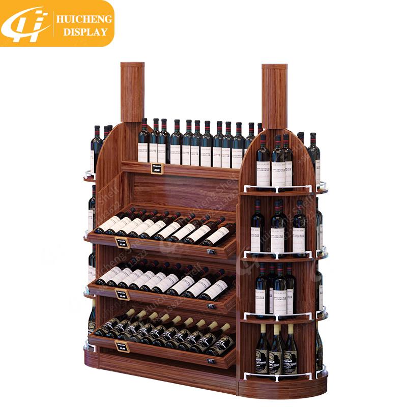 new style wood wine rack shelf wine racks for store and wine bar buy wine shelf wine rack cabinet wine bar cabinet product on alibaba com