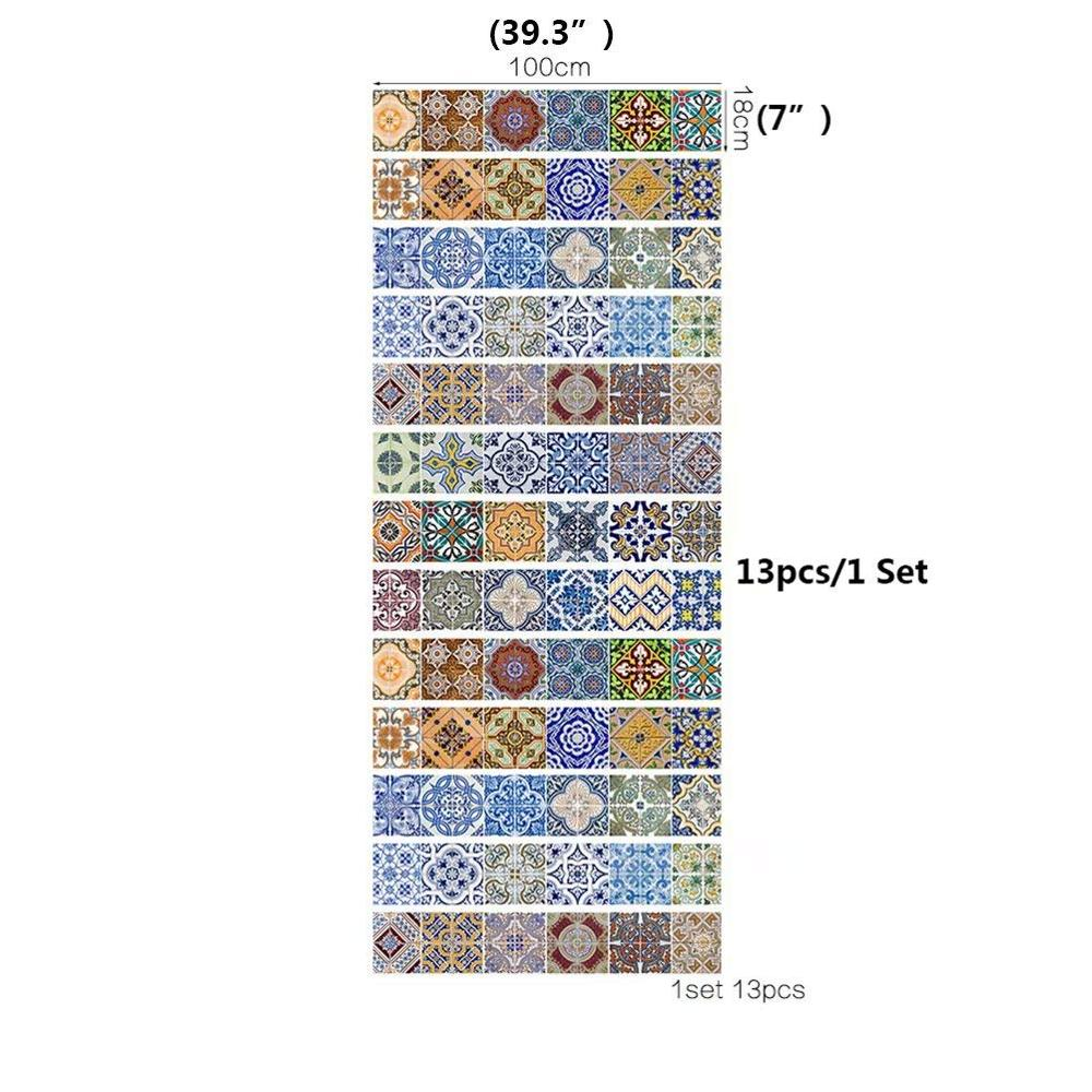 peel and stick tile backsplash stair riser decals diy tile decals mexican traditional talavera waterproof decor staircase decal buy 3d stair