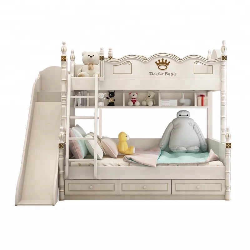 bunk bed with slide cheap kids furniture white american style a88 buy kids bunk beds with stairs baby furniture american style kids bed with slide