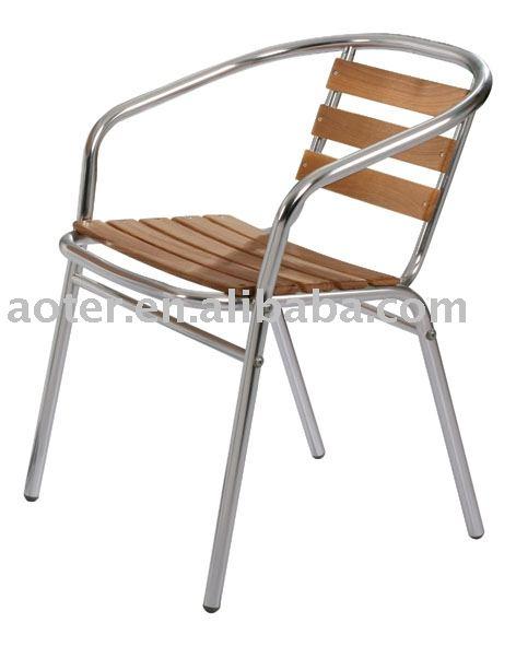 chaise de bistrot en bois d aluminium haute qualite pour cafe buy chaise de bistrot chaise en bois d aluminium chaise de cafe product on alibaba com