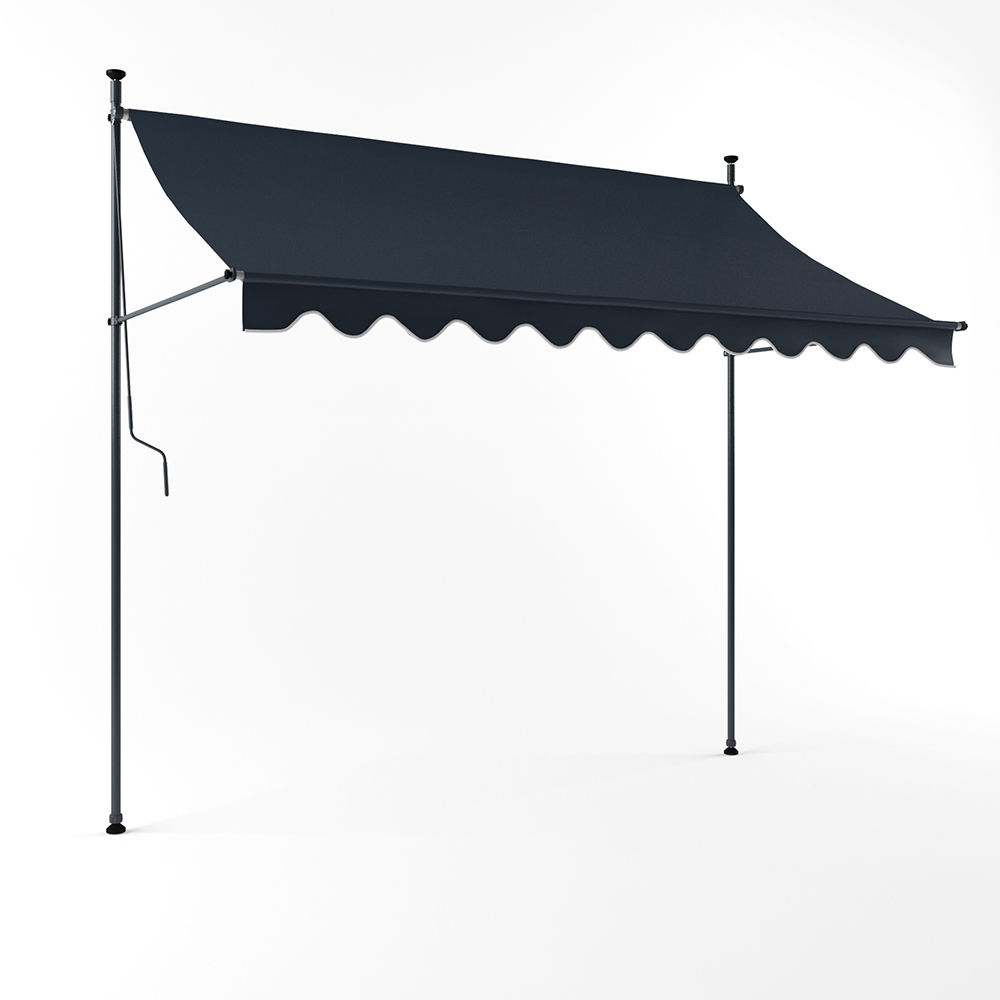 new design windproof retractable free standing height adjustable awning buy free standing awning patio awnings height adjustable awning product on