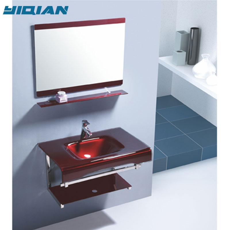 hangzhou wall hanging red glass basin for bathroom vessel sink buy bathroom glass vessel sink hangzhou bathroom vessel sink bathroom vessel sink