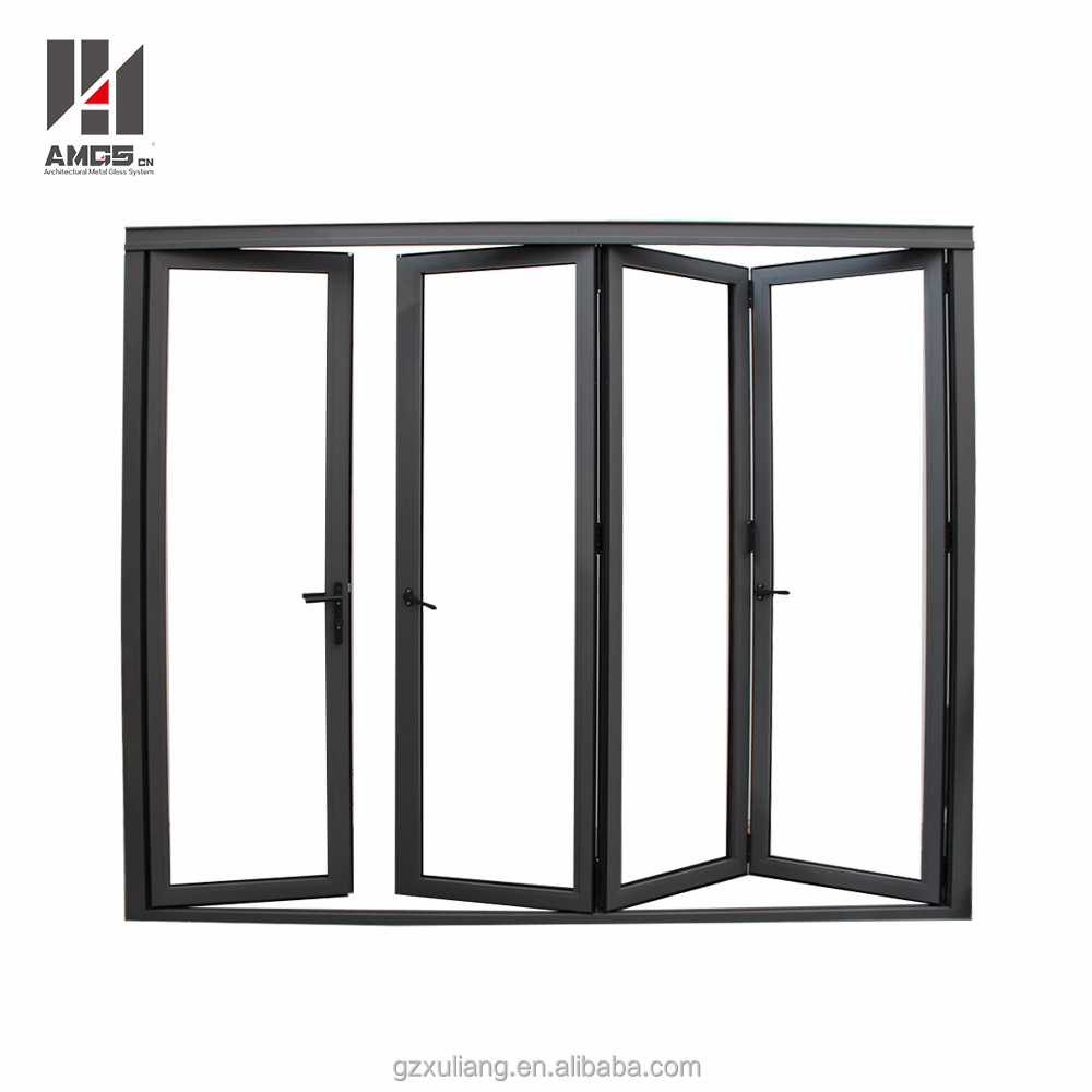 porte pliante en verre aluminium interieur etanche de style patio buy porte pliante interieure porte patio pliante porte pliante coulissante product