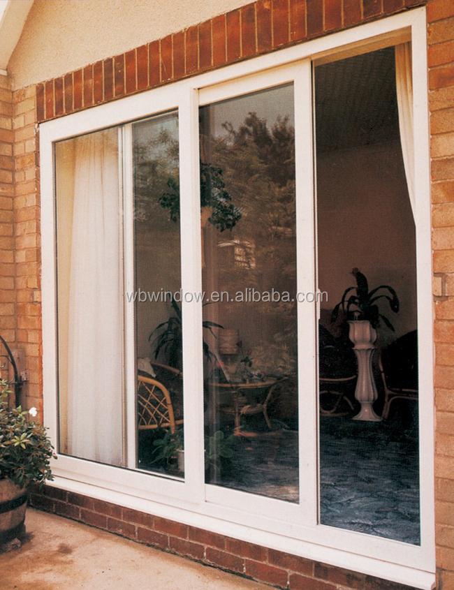 hurricane impact resistant pvc sliding patio door with tempered glass view sliding door weibo product details from foshan weibo windows doors co ltd on alibaba com