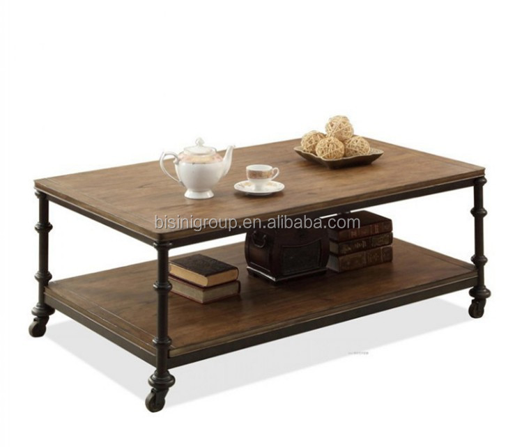 iron wheels wood coffee table bf10 m705 buy wood coffee table steel coffee table wheels coffee table with wheels product on alibaba com