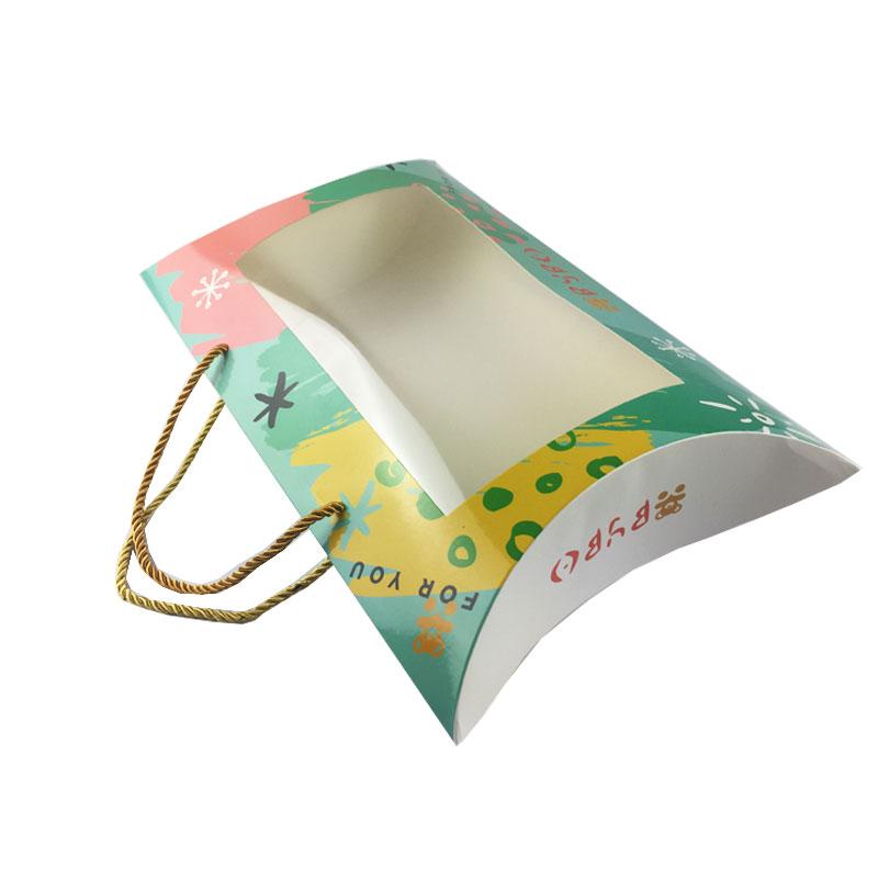 custom art paper pillow case box packaging for baby clothes buy paper pillow box packaging pillow case box packaging paper pillow box for baby