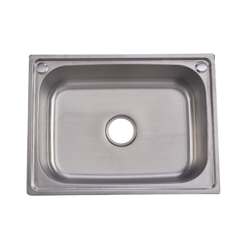 6045 high quality single bowl 201 stainless steel kitchen sink with drain board view single bowl kitchen sink ywleto product details from yiwu leto