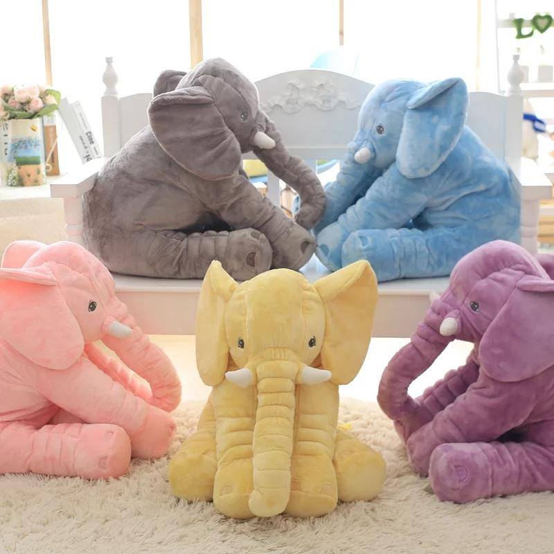 90cm cute big size stuffed baby elephant pillow plush toy for girlfriend children christmas gift buy elephant pillow elephant plush toy plush