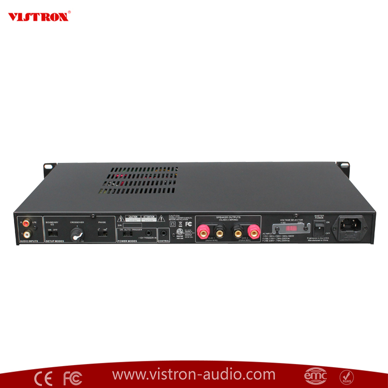professional 500w rms at 4 ohms vda 500 rack mount sub amplifier buy subwoofer rack mount amplifier subwoofer amplifiers factory rack mounted