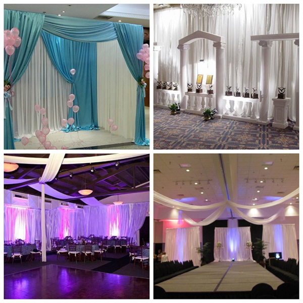 wholesale event wedding aluminum backdrop stand pipe drape lowest price pvc pipe and drape buy pipe and drape event wedding aluminum backdrop stand