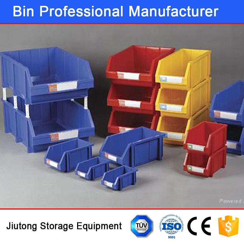 warehouse equipments plastic stackable storage shelf bins spare parts bins buy plastic bins for shelving tools storage boxs household storage