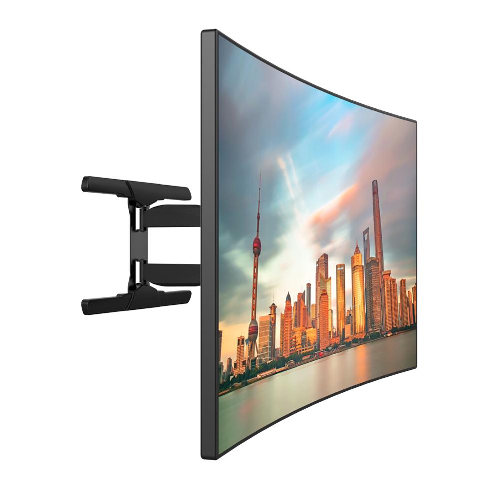 360 degres pivotant tv support mural pour incurvee et televiseur a ecran plat buy support mural tv pivotant a 180 degres support mural tv a 360