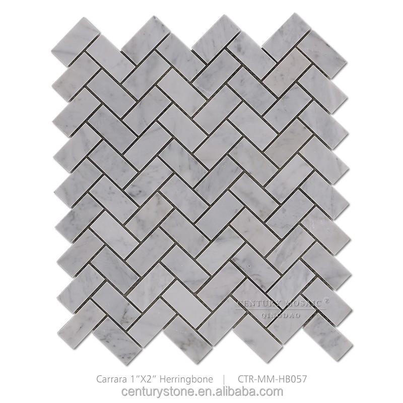 gray herringbone carrara white marble mosaic kitchen floor tile buy kitchen floor tile herringbone living room floor tiles white marble mosaic