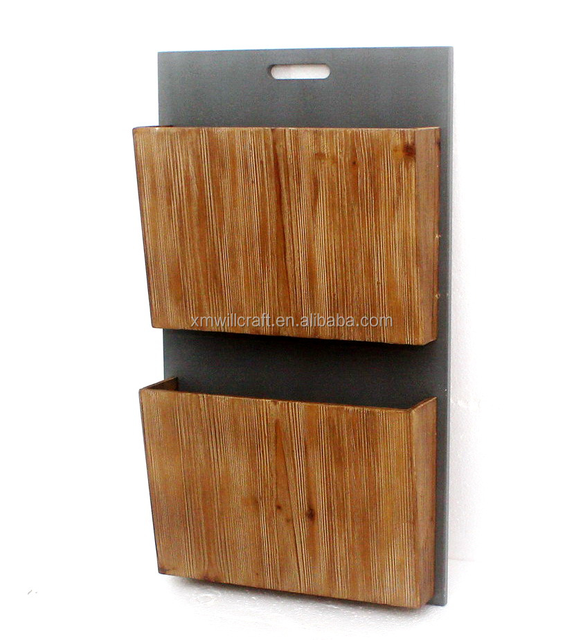 office home 2 tiers wall mounted wooden wall hanging magazine rack buy wall hanging magazine rack wall mounted magazine rack wall hanging wooden