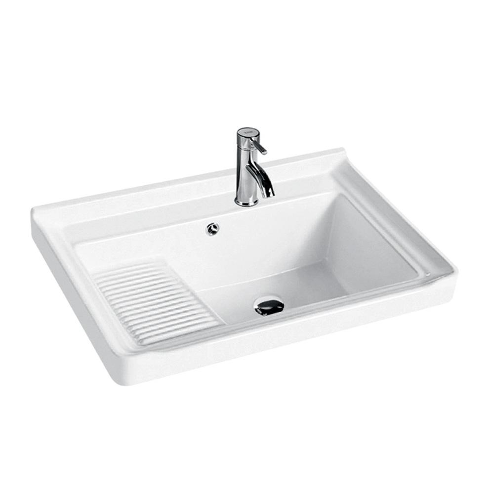 ceramic laundry tub with washboard buy laundry tub ceramic laundry tub laundry tub with washboard product on alibaba com
