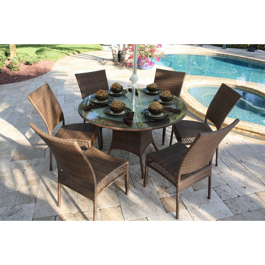 stylish design patio cane furniture clearance sets round dining table and chairs sale buy patio cane furniture clearance dining sets round dining