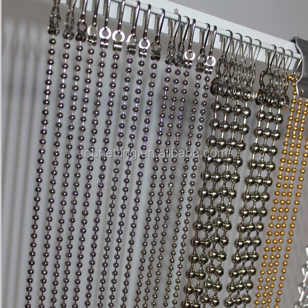 metal steel ball bead chain curtain buy ball bead chain curtain hanging shining decorative metal bead chain curtain for room decor custom design