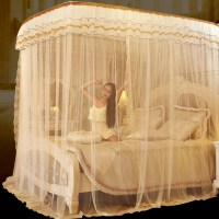 Luxury Canopy Bed Curtains - Home Design