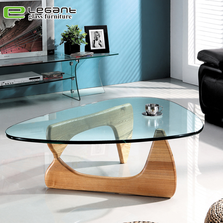 triangle glass coffee table with wood base buy glass coffee table with stools oval glass top coffee table glass top marble coffee table product on