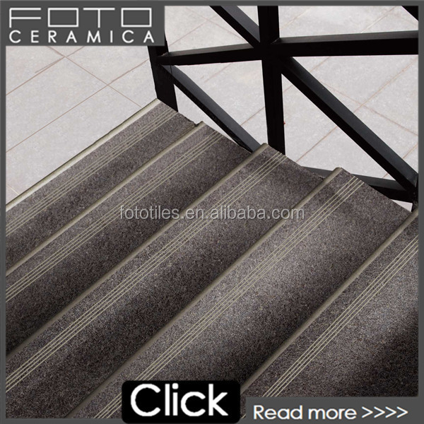 porcelain stair nosing stairway tile view stair nosing tiles foto product details from foshan foto ceramics co ltd on alibaba com