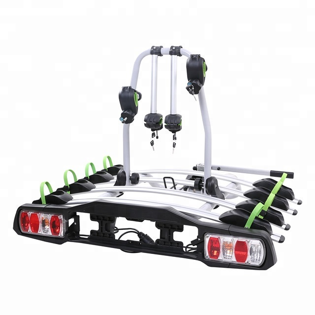 tow ball aluminum bike carrier bicycle rack for 4 bikes universal tb 009a4 view bike rack treasurall product details from ningbo chenfan auto accessories co ltd on alibaba com