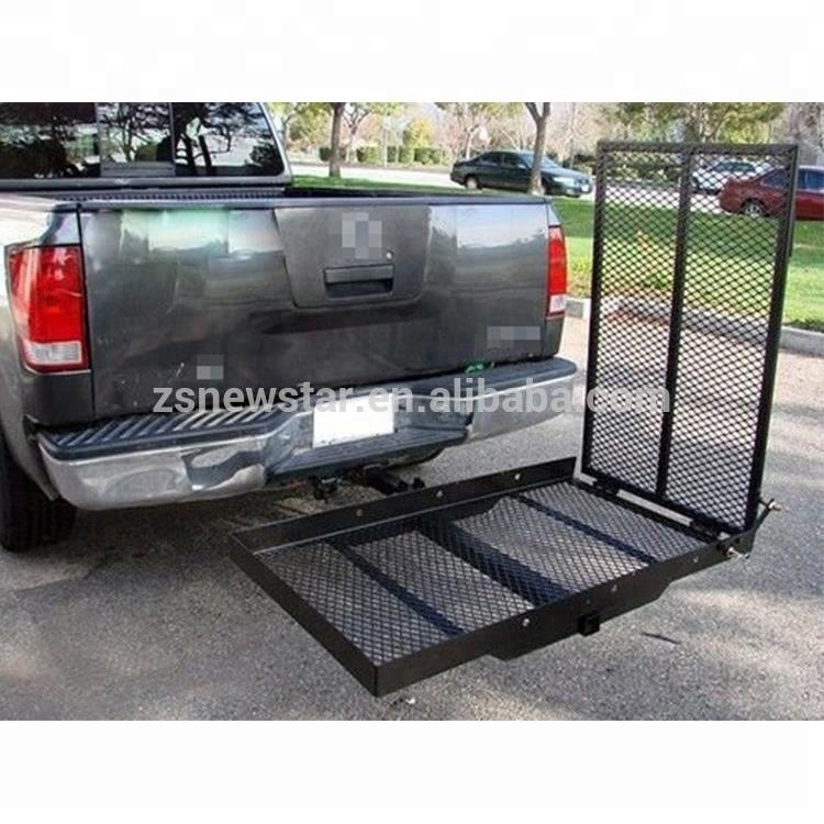 scooter transportation foldable steel wheelchair motorcycle truck ladder racks hitch cargo carrier buy wheelchair carrier truck ladder