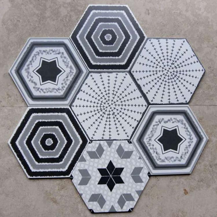 simple nordic antique hexagon shape 300 260 115 tile art exhibition library floor tiles buy floor tiles ceramic tile art deco floor tiles product on