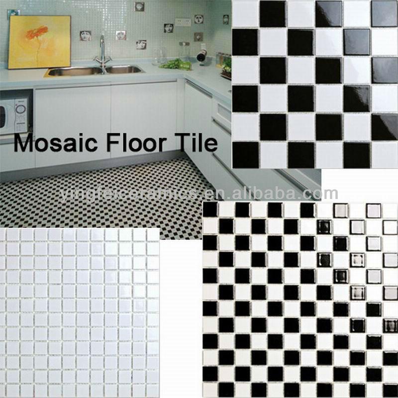 china mosaic floor tile y4803 size of 48x48mm 2x2 23x23mm 1x1 buy mosaic floor tile mosaic bathroom floor tiles ceramic mosaic floor tiles