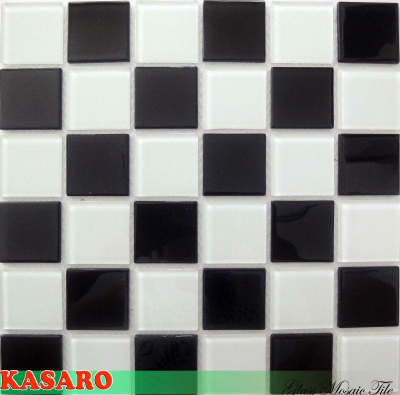 black and white mosaic glass tile kitchen tile wallpaper tile mosaic ksl135036 buy mosaic glass tile tile wall mosaic black white glass mosaic