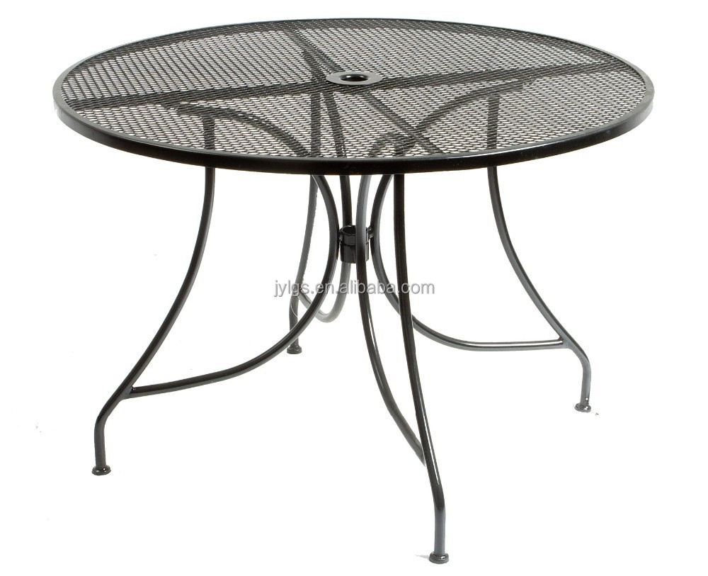outdoor garden patio metal mesh dining table buy metal mesh patio table furniture outdoor metal table wire mesh table product on alibaba com
