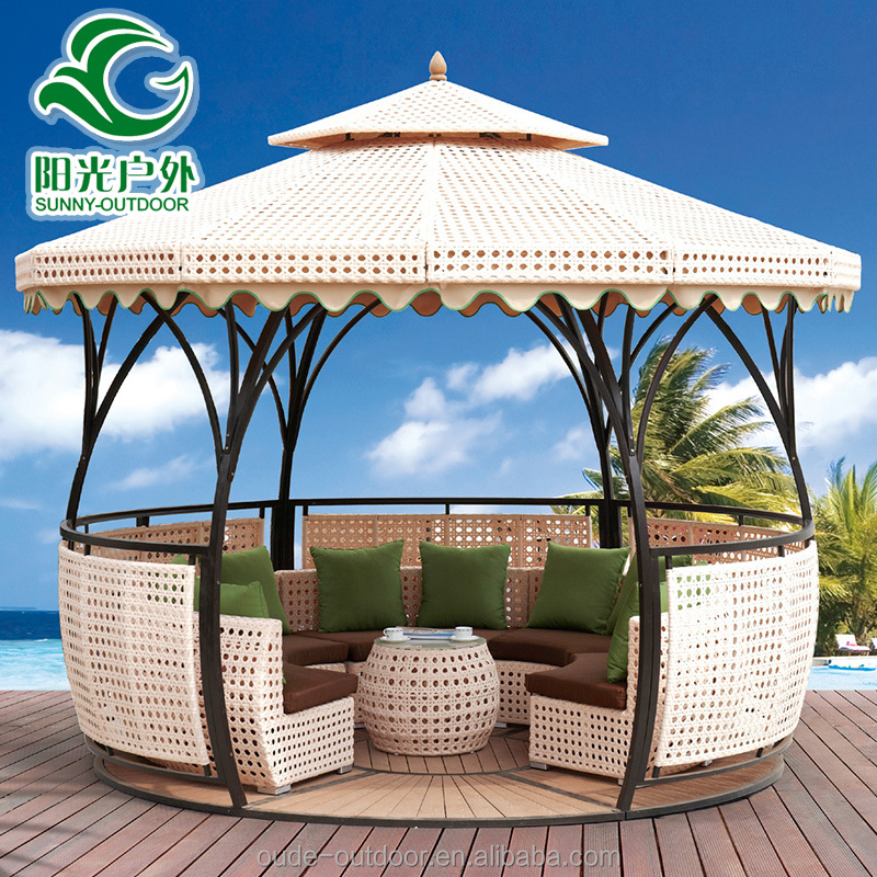 high quality wind proof round metal outdoor gazebo for sale buy round metal gazebo outdoor gazebo gazebo for sale product on alibaba com