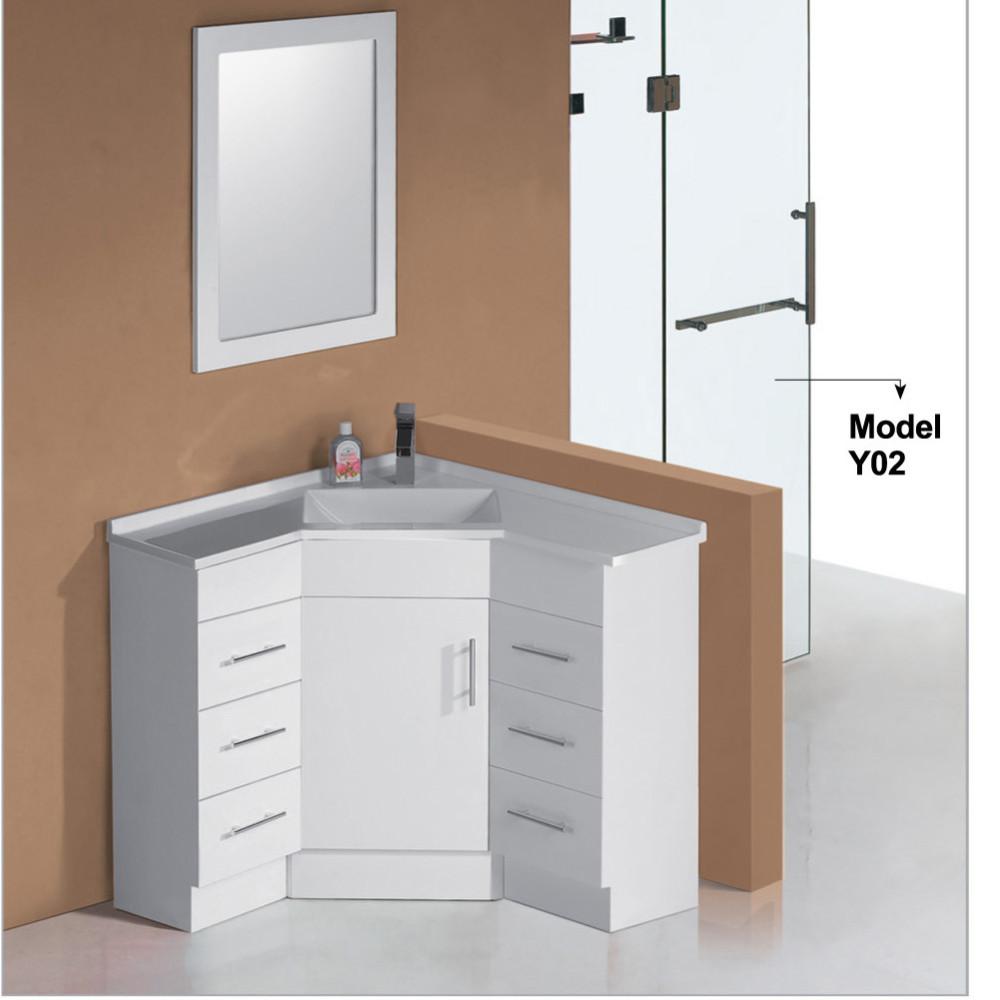 white lacquer modern discount bathroom corner furniture corner bathroom vanity units buy bathroom corner furniture corner bathroom vanity