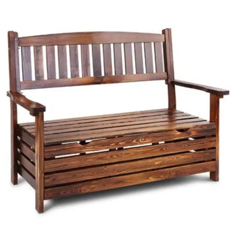 outdoor garden bench with backrest patio storage wooden storage bench deck box loveseat furniture all weather cabinet seat buy outdoor wooden